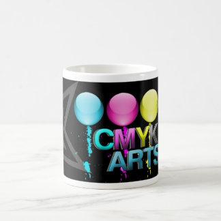 CMYK Glossy Design Coffee Mug