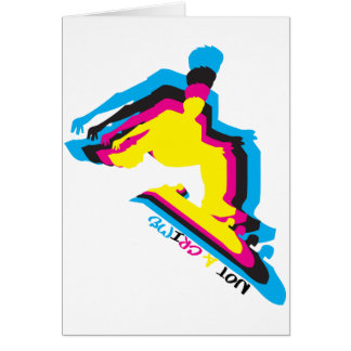CMYK is Not  a Crime Card