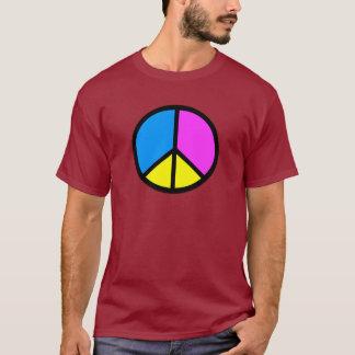 CMYK Peace Sign T-Shirt