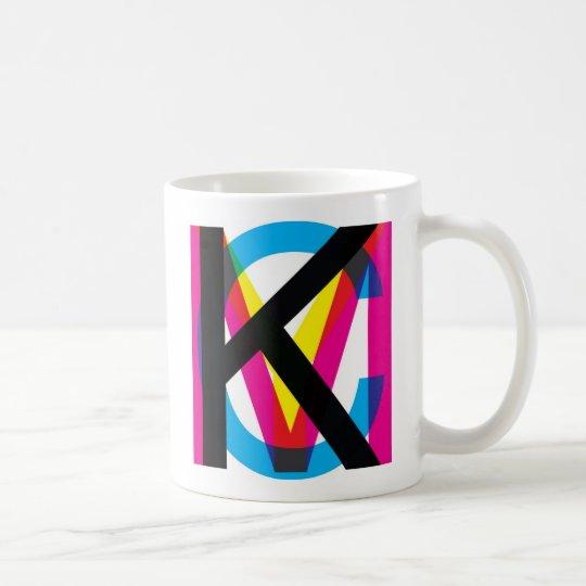 CMYK pile Coffee Mug