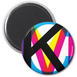 CMYK pile Magnet
