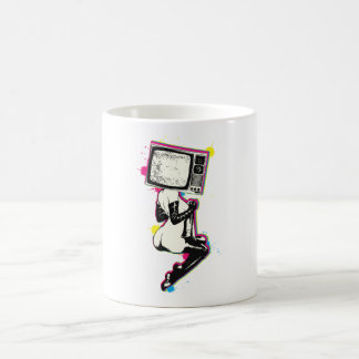 Cmyk pin-up coffee mug