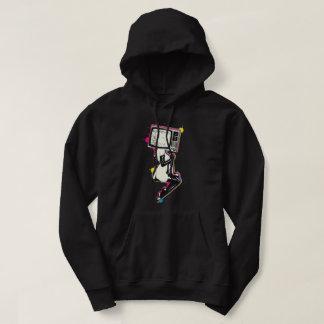 Cmyk pin-up hoodie
