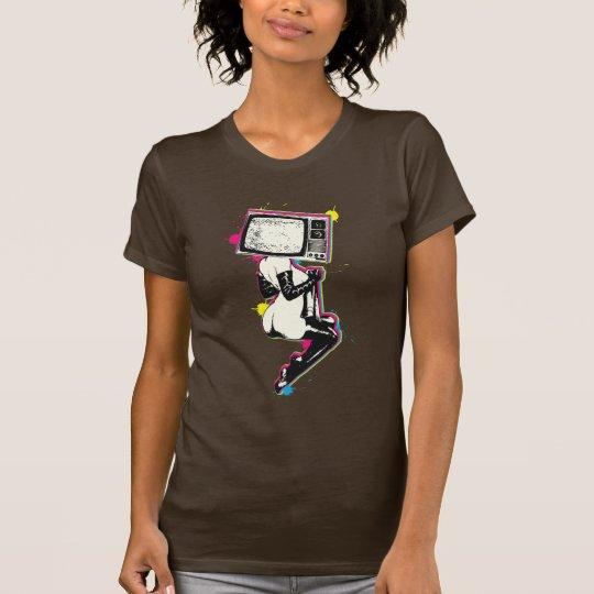 Cmyk pin-up T-Shirt