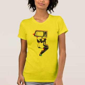 Cmyk pin-up tee shirt