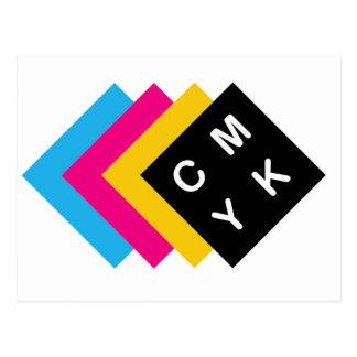 CMYK POSTCARD
