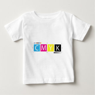 CMYK Pre-Press Colors Baby T-Shirt
