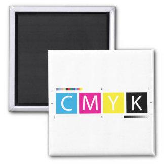 CMYK Pre-Press Colors Magnet