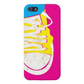 CMYK - Rasque sus zapatillas de deporte iPhone 5 Protector