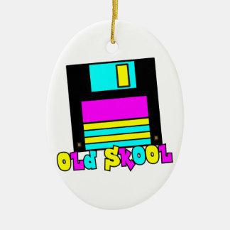 CMYK retro floppy disk old skool design Ornament