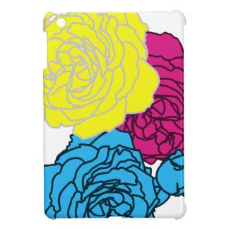 CMYK Roses for iPad Mini Case For The iPad Mini