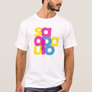 CMYK SaoPaulo T-Shirt