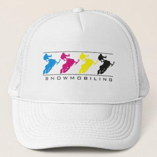 CMYK - Snowmobile Silhouette Hat