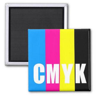 CMYK - square magnet