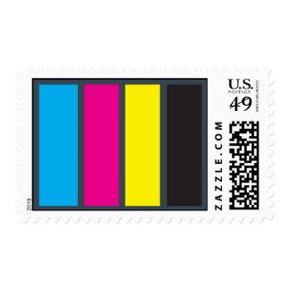 CMYK Stamp