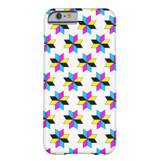 CMYK Stars Pattern iPhone 6/6s Case