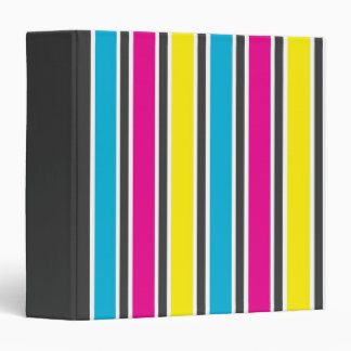 CMYK Stripes binder