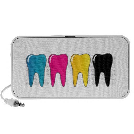 CMYK tooth Speakers