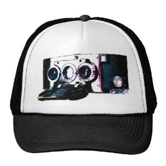 CMYK Vintage Camera Picture Pop Art Trucker Hat