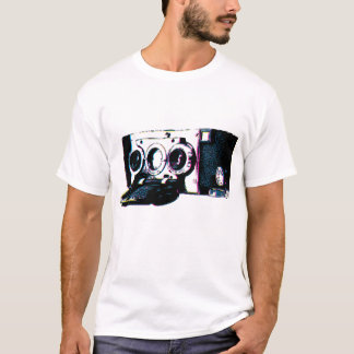 CMYK Vintage Camera Picture Pop Art T-Shirt
