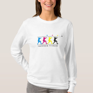 CMYK - Women's Hammer Throw T-Shirt
