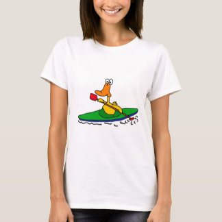 CN- Funny Kayaking Duck T-Shirt
