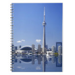 CN Tower and buildings in Toronto, Ontario, Canada Notebook