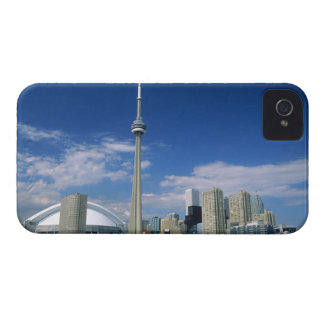CN Tower and Skydome in Toronto, Ontario, iPhone 4 Case-Mate Case
