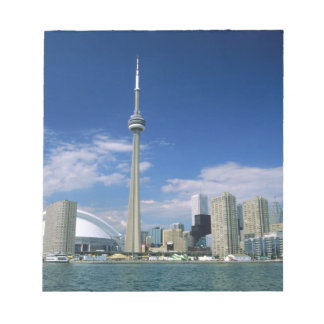 CN Tower and Skydome in Toronto, Ontario, Notepad