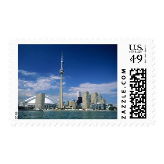 CN Tower and Skydome in Toronto, Ontario, Stamps