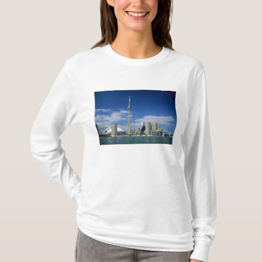 CN Tower and Skydome in Toronto, Ontario, T-Shirt