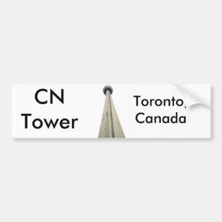 CN Tower Bumper Sticker