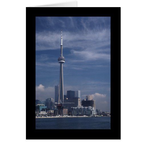 CN Tower Greeting Card