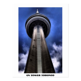 CN TOWER sign CN TOWER TORONTO Postcards