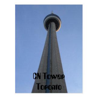 CN Tower Toronto Post Card