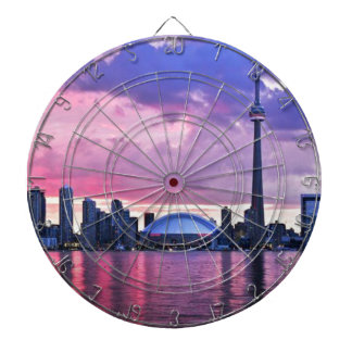 CN Tower : View from Center Island Toronto Dart Boards