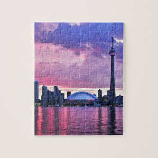 CN Tower : View from Center Island Toronto Puzzles