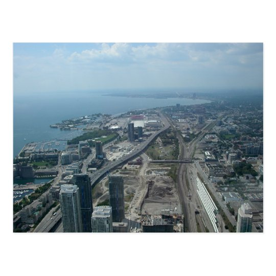CN Tower View Postcard