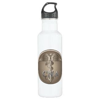 CNA Caduceus Water Bottle