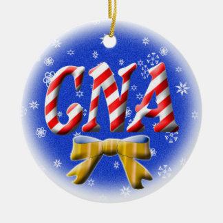 CNA CANDY CANE CHRISTMAS ORNAMENT NURSE ASSISTANT