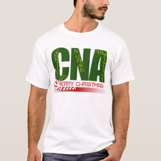 CNA -CERTIFIED NURSE ASSISTANT MERRY CHRISTMAS T-Shirt
