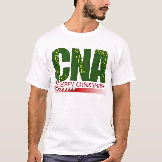 CNA -CERTIFIED NURSE ASSISTANT MERRY CHRISTMAS T-Shirt