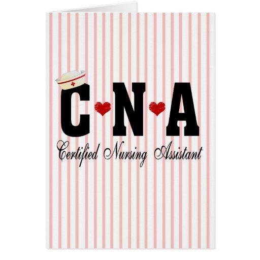 CNA Certified Nursing Assistant Card