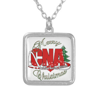 CNA CHRISTMAS Certified Nursing Assistant Personalized Necklace
