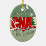 CNA CHRISTMAS Certified Nursing Assistant Christmas Tree Ornaments