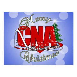 CNA CHRISTMAS Certified Nursing Assistant Post Card