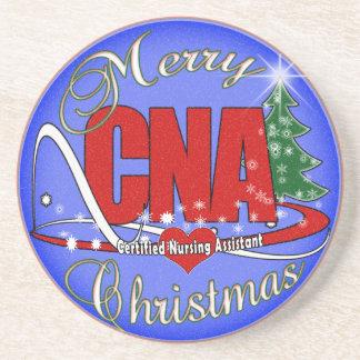 CNA CHRISTMAS COASTERS CERTIFIED NURSING ASSISTANT