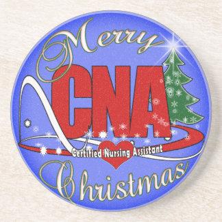 CNA COASTERS CHRISTMAS - CERTIFIED NURSE ASSISTANT