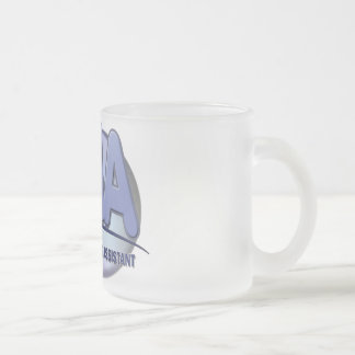 CNA FUN BLUE CERTIFIED NURSING ASSISTANT FROSTED GLASS COFFEE MUG