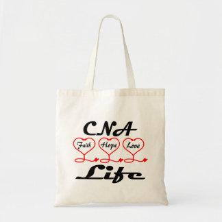 CNA Hope Love Faith Tote Bag